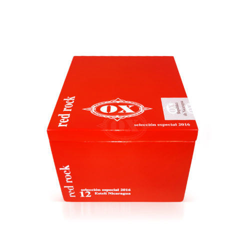 OX Red Rock cigar box